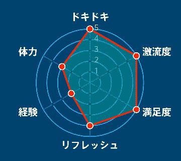 小歩危コース レーダーチャート